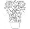 Двигатель 1.6л 16кл