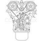 Двигатель 21127